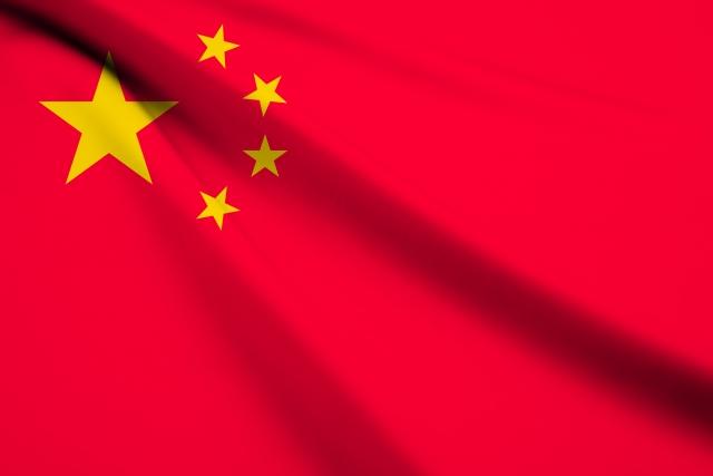 中国株暴落