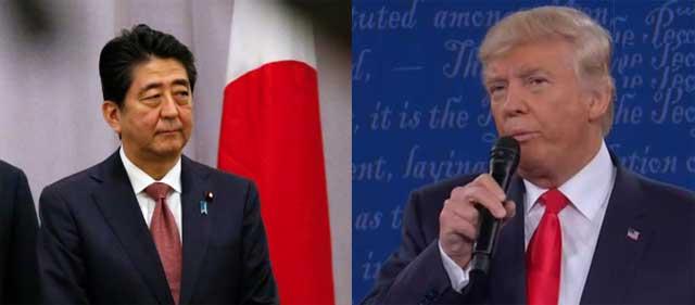 安倍首相とトランプ氏初会談