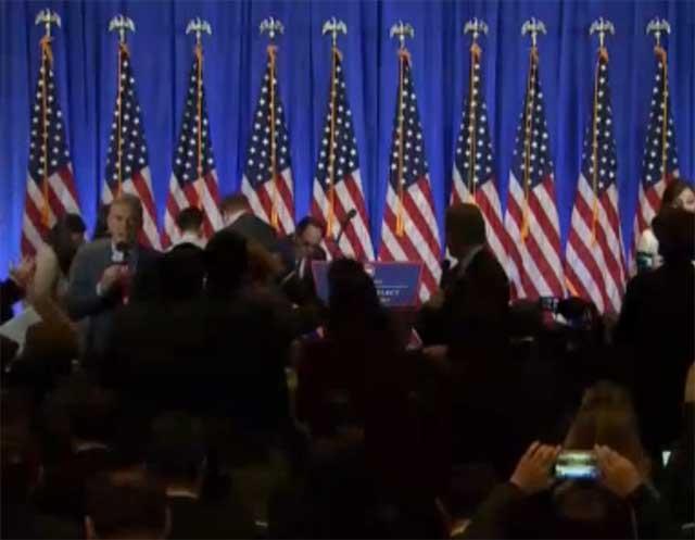 トランプ次期大統領記者会見