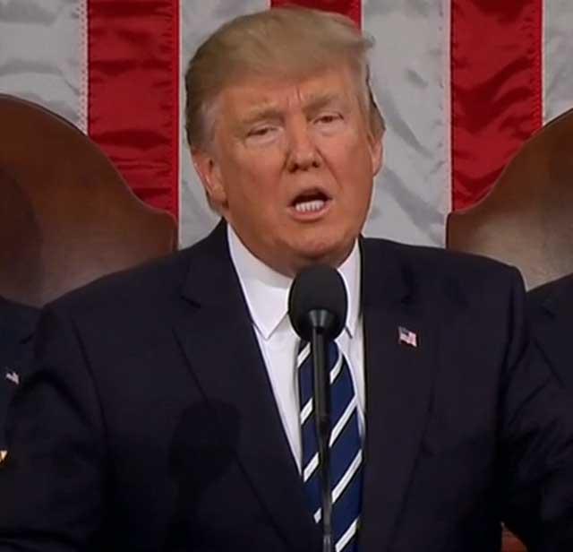 トランプ大統領議会演説